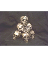 Mini Skull Pile Gothic Skeleton Halloween Horror Bones Statue Prop Small... - $11.99