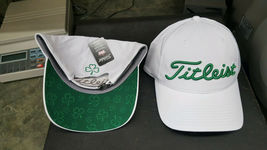 New In Stock Limited Titleist Golf Cap St. Patrick's Day Performance White - $45.99