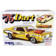 Skill 2 Model Kit 1976 Dodge Dart Sport with Two Figurines 3 in 1 Kit 1/... - $44.23