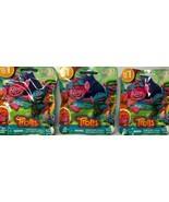 3x Trolls Series 7 Pack Hasbro Dreamworks Stocking Stuffer Party Favor N... - $10.78