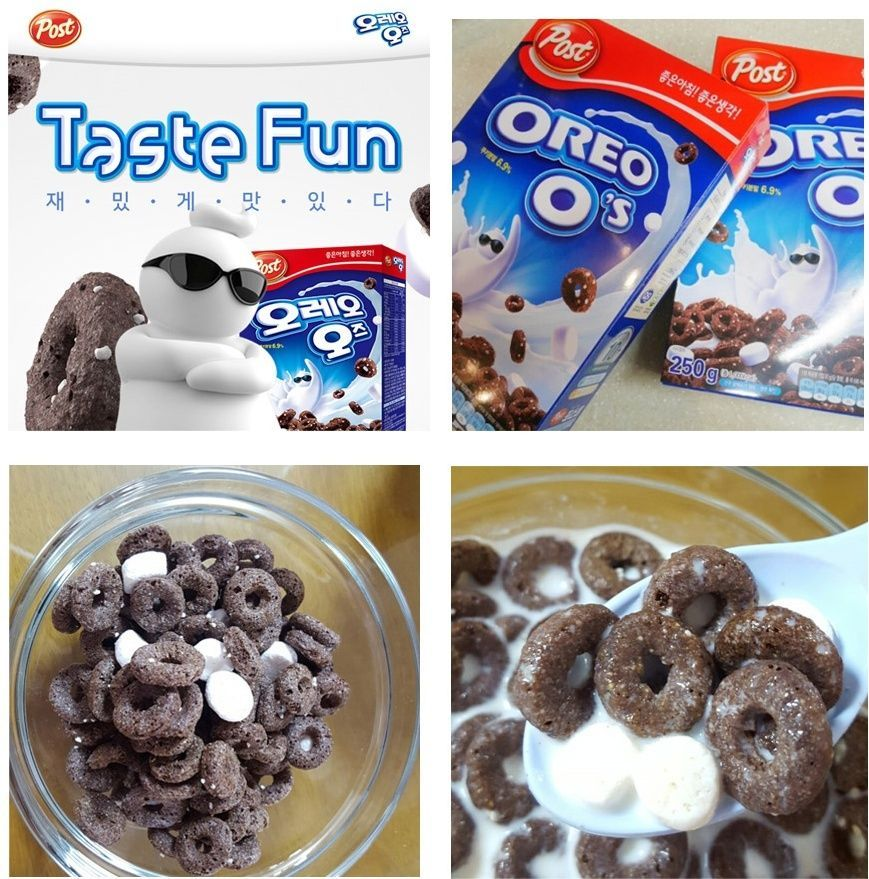 POST OREO O's  Cereal 250g (8.8oz) OS with Marshmallow