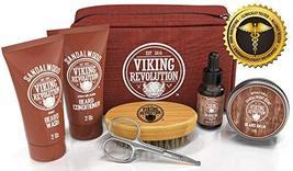 Beard Care Kit for Men Gift- Beard Grooming Kit Contains Travel Size Beard Oil,  image 3
