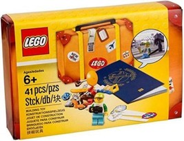 Lego My Travel Companion 41 pieces 6178090 Building Toy Suitcase Minifig... - $16.88