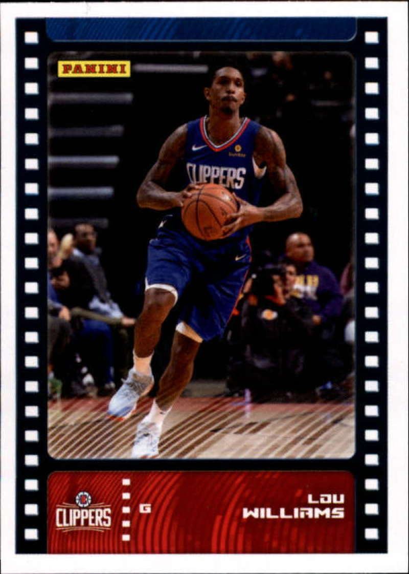 Primary image for 2019-20 Panini NBA Sticker Box Standard Size Insert #38 Lou Williams Los Angeles