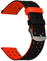For Vivoactive HR Watchband, TRUMiRR Double Color Silicone Rubber Band Sports - $30.40