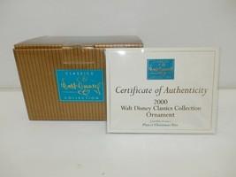 WDCC 2000 Pluto's Christmas Tree Box/COA Only, No Ornament - $15.00