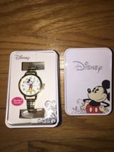 Accutime Disney Mickie Mouse Watch Moving Hands Brand New In Box - $24.74
