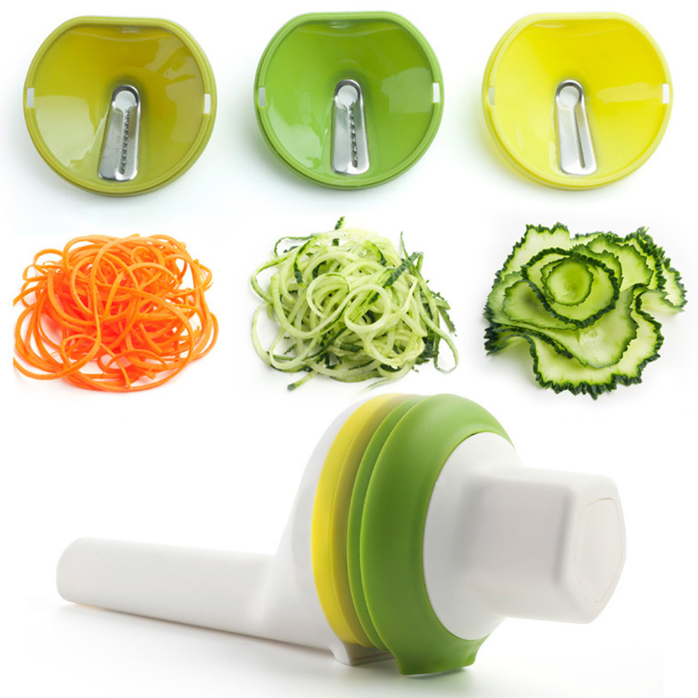 Good Grips Simple 3 In 1 Multi-functional Handhelp Spiralizer Vegetable cutter