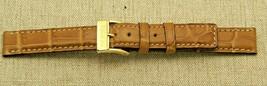 New Gucci 14 MM  Brown Genuine Crocodile Leather Watch Band - Regular (1... - $39.95