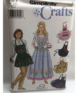 7027 Simplicity Aprons Variety Pack Sewing Pattern UNCUT Sz S M L Misses... - $5.00