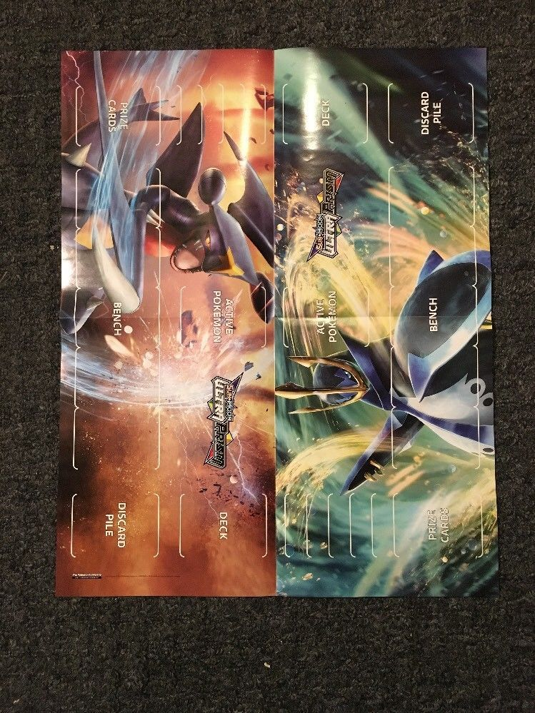 """PIPLUP New Toys R Us Exclusive Piplup Holo Card and Ultra Prism Poster 19""""x24"""""""