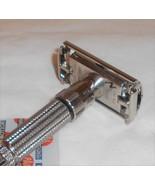 Gillette 1960 Fat Boy Razor Adjustable TTO Replated Bright Nickel F4-FX4 - $150.00