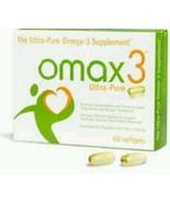 Omax3 Ultra-Pure Omega-3 Supplement 60 Softgels Supplement - $44.55
