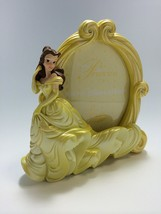 Tokyo Disney Resort Limited Beauty and the Beast Bell Photo Frame Yellow Dress - $82.17