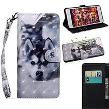 XYX Wallet Phone Case for Sony Xperia XZ2,[Wrist Strap] Painted Design P... - $9.88