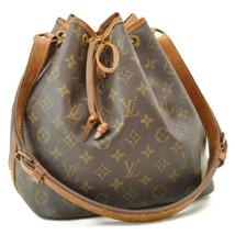 LOUIS VUITTON Monogram Petit Noe Shoulder Bag M42226 LV Auth 9024 - $210.00