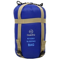 Camping Sleeping Bags Hiking Sleeping Bag With Compression Sack by (Blue) - $26.73