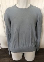 New $88 The Men's Store Bloomingdale's Blue Fog Cotton Sweater Size Small & XL - $29.00