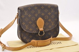 LOUIS VUITTON Monogram Saint Cloud GM Shoulder Bag M51242 LV Auth sa1761 - $480.00