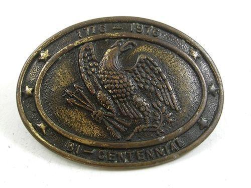1776 - 1976 American Eagle Bi Centennial Belt Buckle 22417 - $18.99
