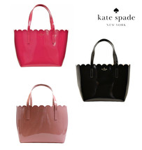 NWT KATE SPADE NEW YORK Lily Avenue Patent Small Carrigan Tote Enamel WK... - $120.78+