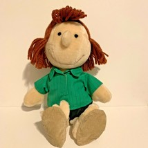 Rare 1982 Peanuts Peppermint Patty Stuffed Doll Determined Productions P... - $27.69