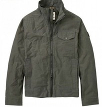 TIMBERLAND A1O1J-028 MT. DAVIS TIMELESS MEN'S GREY WAXED CANVAS JACKET - $86.24