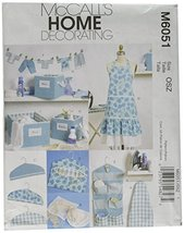 McCall's Patterns M6051 Apron, Ironing Board Cover, Organizer, Bins, Hanger Cove - $14.21