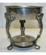 antique sterling silver ornate coffee urn 3 legged stand  - $49.49