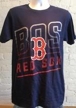 NWT Genuine MLB Boston Red Sox Men's Medium Size T Shirt Color Blue - $11.87