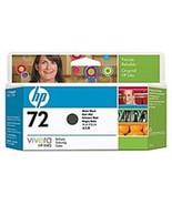 HP C9403A 72 130 ml Ink Cartridge for DesignJet Printers - Matte Black - $70.81