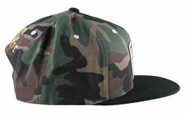 KR3W Men's Camo FTW Fu$k the World Blood and Concrete Snapback Baseball Hat NWT image 3