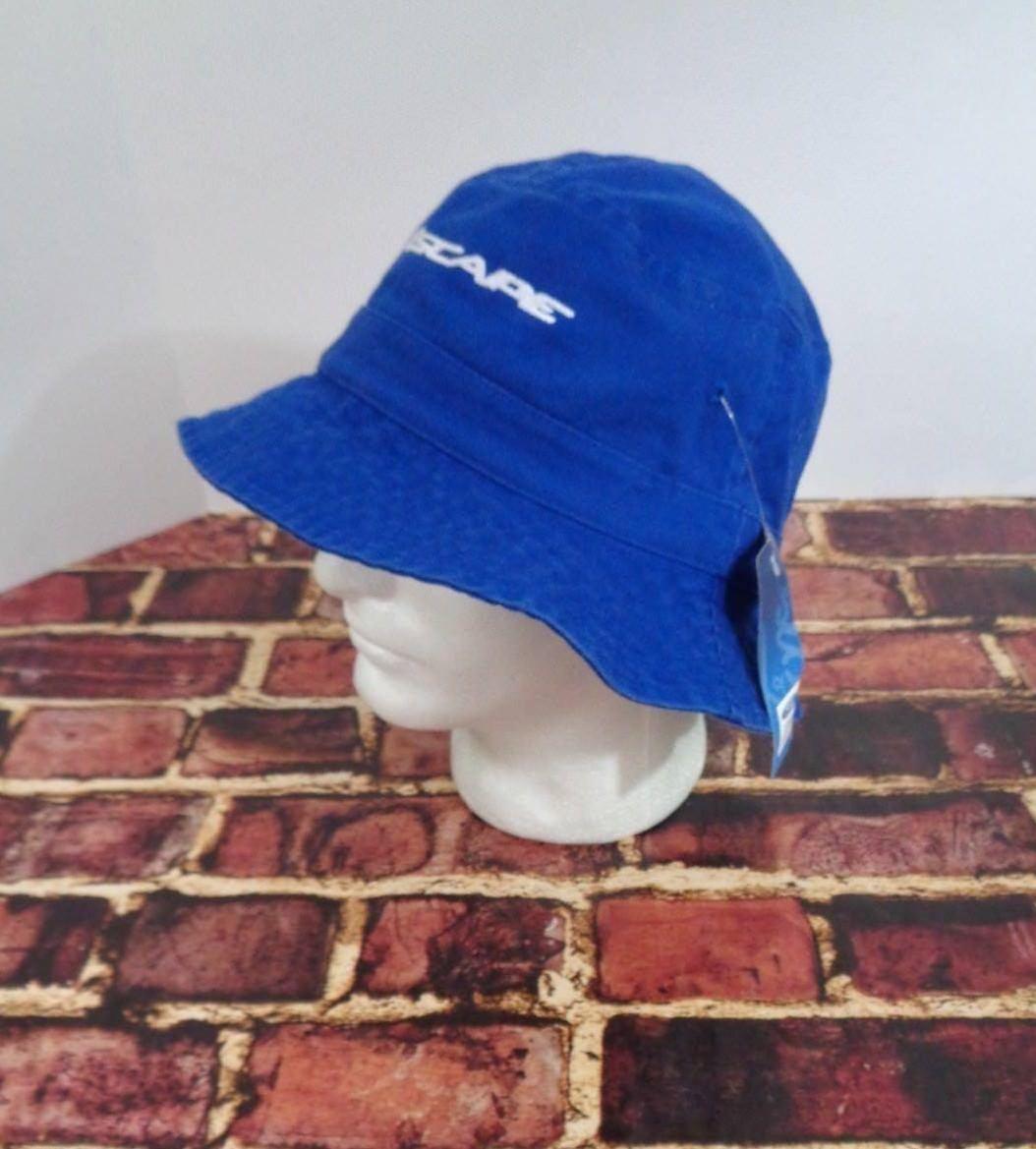 Ford Motor Co SUV Blue Floppy Hat Cap Bucket One Size Car Auto Truck Beach Sun o