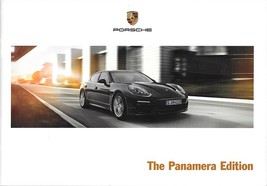 2016 Porsche PANAMERA EDITION brochure catalog US 16 4 - $12.00