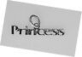 NICE Small Princess Charm name word Sterling silver Jewelry - $9.53