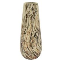 18 in. Porcelain Brown Ceramic Vase - $118.33