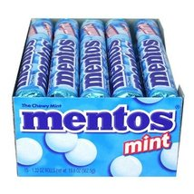 Mentos Mint (1.32 oz. roll, 15 ct.) (pack of 2) - $32.95
