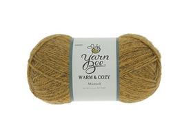 Yarn Bee, Warm & Cozy Yarn in Mustard, Perfect Fall Color!