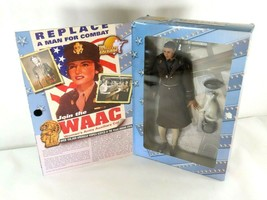 """2001 Ultimate Soldier WWII WAAC Women's Army 12"""" Figure from 21st Centur... - $35.89"""