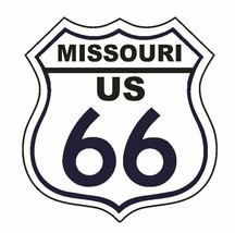 Missouri Rt 66 Route 66 Sticker Made In The Usa D2884 - $1.45+