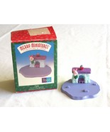 Hallmark Ornament Disney 1999 Piglet Pooh House Merry Miniatures First o... - $7.59