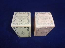 2 - Vtg AVON Petite Pig Field Flowers Mini Travel Perfume Bottle .25 fl ... - $18.99