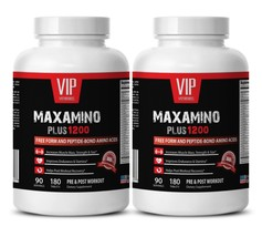 Post workout supplement for men - MAXAMINO PLUS 1200 2B- Muscle growth booster - $43.59