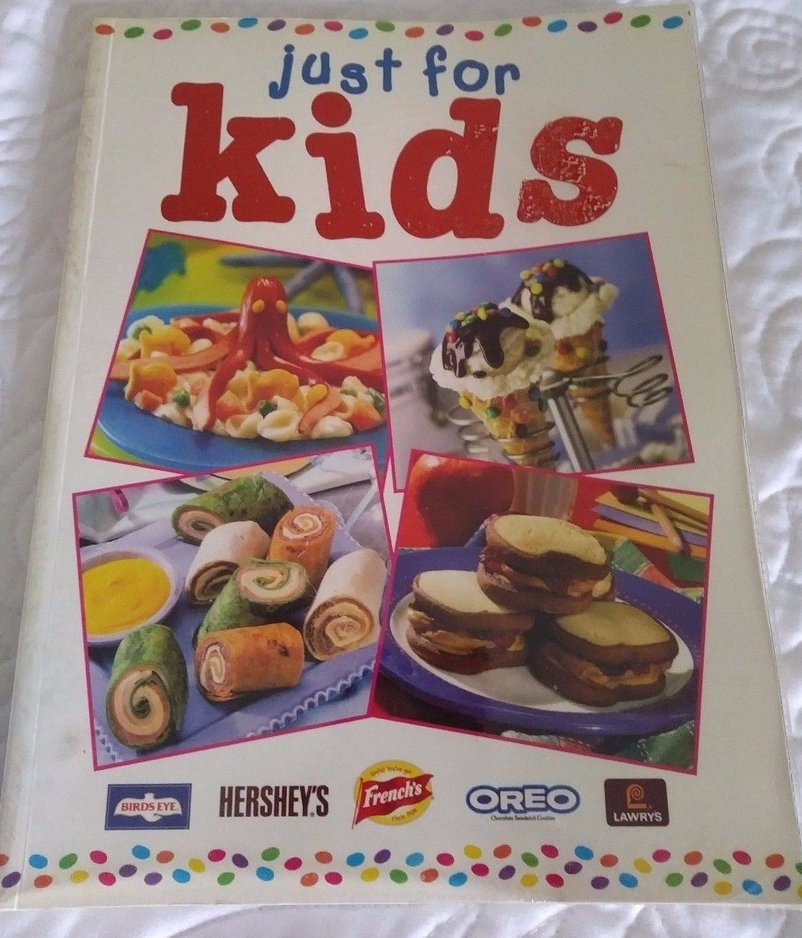 Kid friendly cook book just for kids recipes hershey oreo frenchs kid friendly cook book just for kids recipes hershey oreo frenchs birds eye euc forumfinder Choice Image