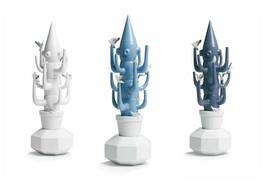 Lladro Retired SET Cactus (white 7259, light blue 7260, dark blue 7261) ... - $1,062.10