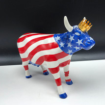 WESTLAND GIFTWARE COW PARADE porcelain figurine 9189 American Royal crow... - $37.62