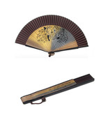 korean style traditional folding fan  made in korea - $38.49