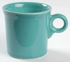 New Fiesta Turquoise (Newer) by HOMER LAUGHLIN(Newer) Large Coffee Mug b... - $27.99