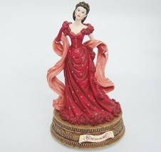 San Francisco Music Box Gone With The Wind Scarlett Figurine in Red Dres... - $24.74