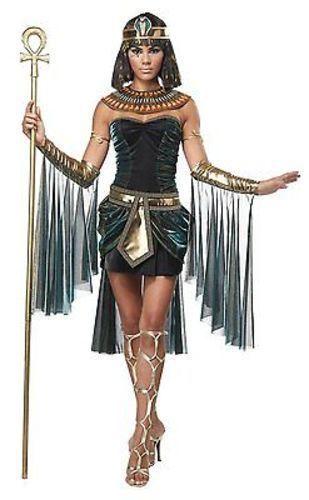 Adulte Femmes Égyptien Déesse Ancien Pyramide Cléopâtre Déguisement Halloween